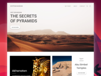 Website The Secret of Pyramids