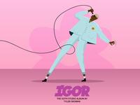 IGOR- Tyler, the Creator Illustration
