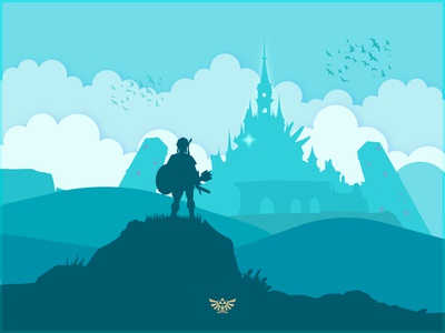 Breath of the Wild Minimal Art