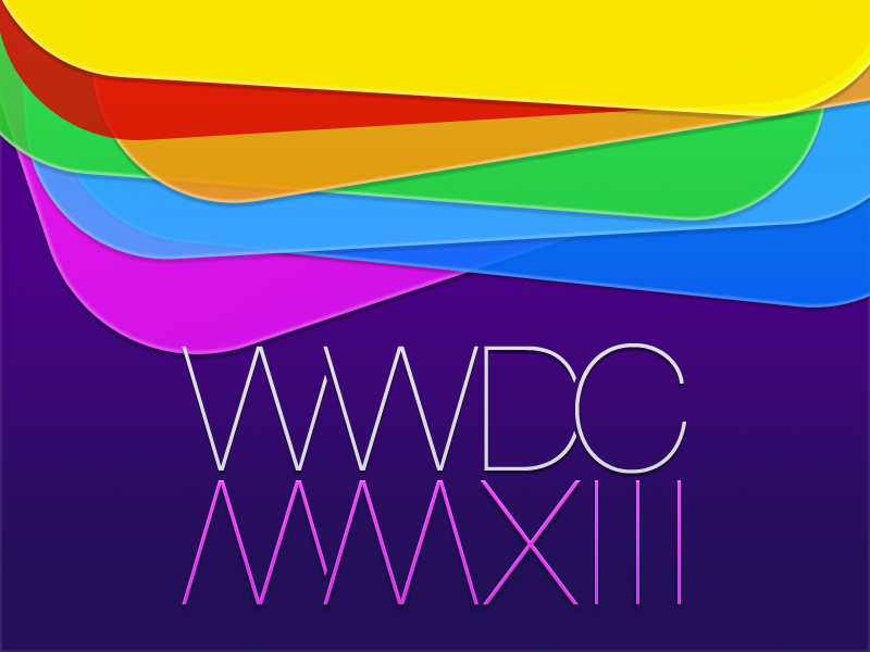 WWDC MMXIII Wallpaper wwdc wwdc 2013 wwdc mmxiii wallpaper purple colors apple
