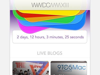 WWDC 2013 Live Blog Site wwdc 2013 wwdc mmxiii wwdc apple icon