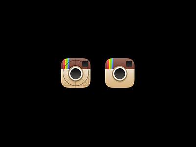 Instagram iOS 7 Icon instagram icon ios 7 apple grid