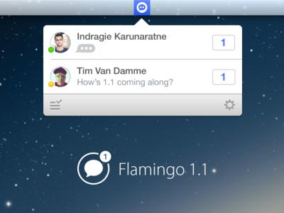 Flamingo 1.1 xmpp facebook hangouts app store app mac flamingo