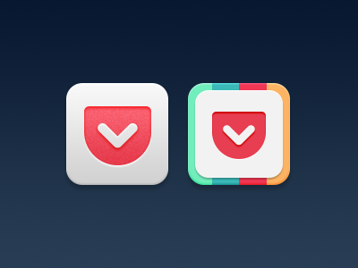 Pocket Replacement Icons (Updated for iOS 7)