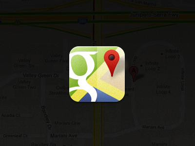 Google Maps Icon icon ios google maps google maps