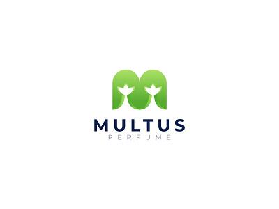 logo design for multus perfume brand identity perfume logo perfume unique logo vector logodesign logos logo design branding logo