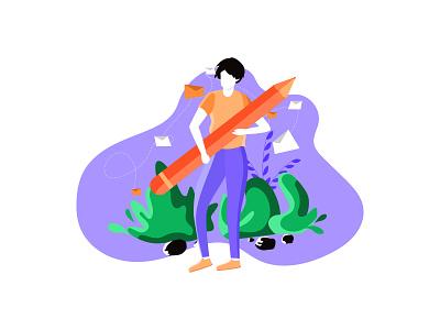 creative education illustration. flat illustration illustraion illustration flatdesign