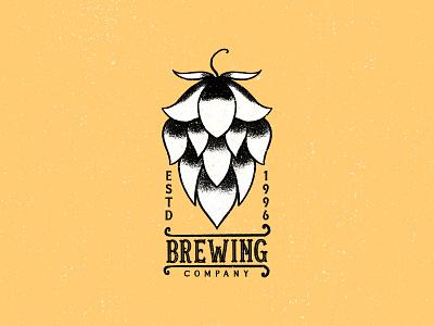 VINTAGE BREWING LOGO DESIGN retro design retro logo vintage brewing logo brewing company vintage logo