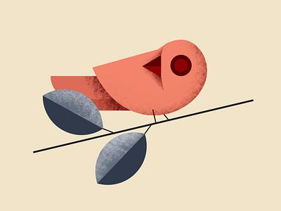Bird Illustration branding flatdesign logo hand drawn illustration drawing flat illustration bird logo bird bird illustration