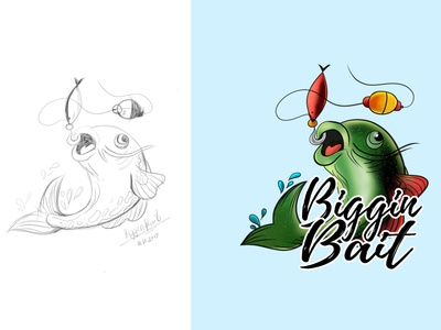 Hand drawn logo design