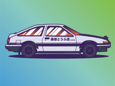 Toyota TRUENO  //AwesomeCarsProject. Vol. 01