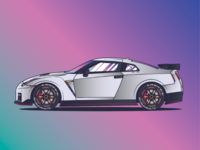NISSAN GTR R35 NISMO  //AwesomeCarsProject. Vol. 03