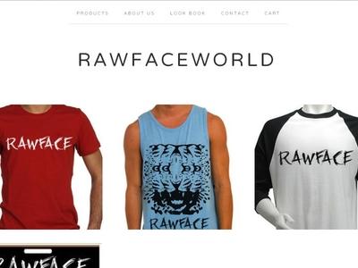 Rawfaceworld Webshop