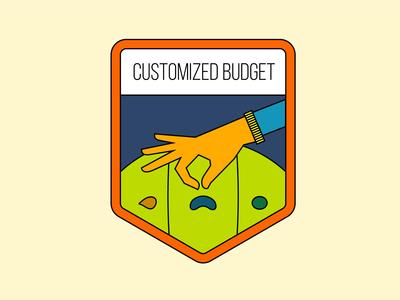Budgeting badges