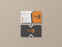 Demo Business card design