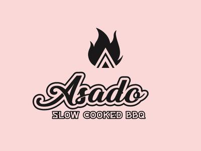 BBQ Typography Logo
