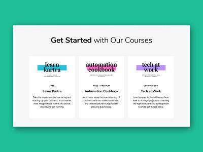 Automators Academy - Branding website website design ux ui web design web branding business education kartra logo design