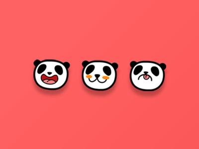 Panda Mood Icons