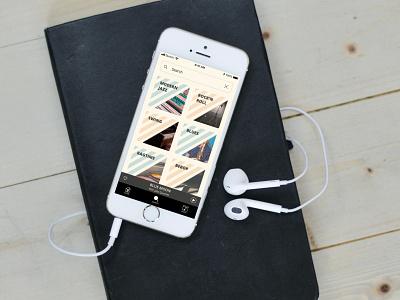 Music App UI Design flat app ui design
