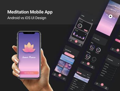 Android vs iOS UI Design
