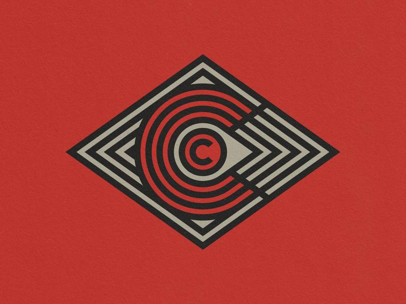 OC illustrator mark pattern vector logo geometic brand branding design wacom design