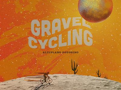 GRAVEL CYCLING ALTIPLANO gravel mexico gravel cycling gravel mexico gravel graphic design outdoors wacom illustration vintage design design
