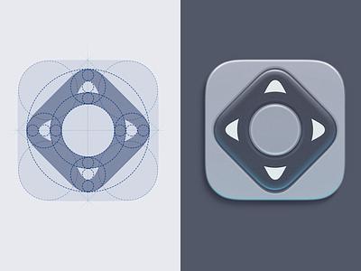Remote Control app ios icon logo logotype remote control tv iphone