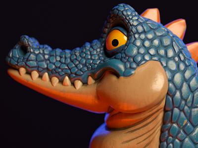 Lizard 3D Model motion design characterdesign zbrush c4d charactedesign cinema 4d 3d artist 3d art render 3d