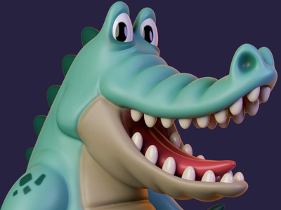 Lizard zbrush cinema4d characterdesign illustration animation cinema 4d 3d artist 3d art render 3d