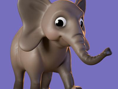 Elephant c4d motion design characterdesign zbrush animation cinema 4d 3d artist 3d art render 3d