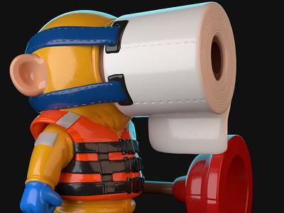 Oscar Toy 3dprinting 3dprint characterdesign motion design cinema 4d zbrush animation 3d artist 3d art render 3d