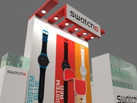 SWATCH Stand