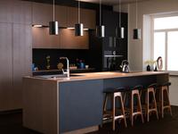 Kitchen Design and Render