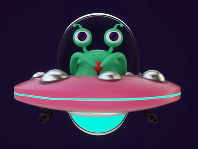 A Little Alien Animation