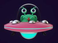 A Little Alien Animation
