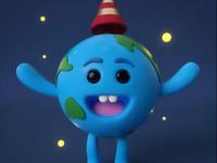 A Little Cute Earth Animation