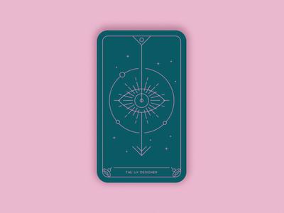 Predictions 2020: The UX Designer geometric art vector illustration art arrow eye minimal trends magic card card design card ux design
