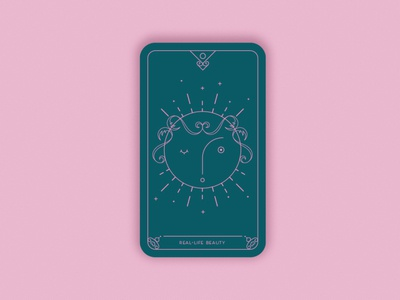 Predictions 2020: Real-Life Beauty minimal magic card magic vector geometric illustration card design card moon beauty