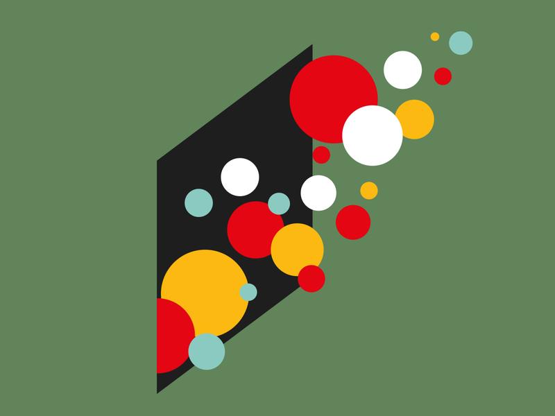 ActionAid Illustrations minimalistic brand agency branding design brand identity the sidelight positive vibe creativity balls colourful branding illustration branding minimal geometric vector illustration