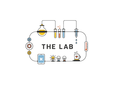 The Lab inventor joomla lamps ideas energy powerful programmers developers coffee creativity visionary working