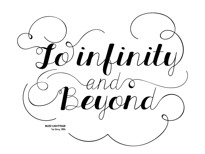 To Infinity And Beyond By Until Sunday Dribbble Dribbble