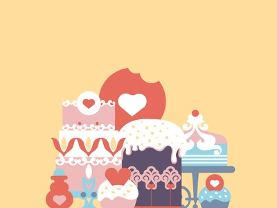 Who stole the tarts? book illustration children book patisserie sweets cupcakes alice in wonderland illustration