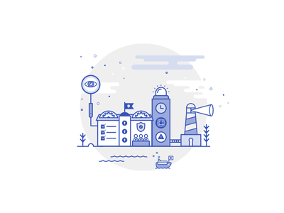 Security growing system security open source community imaginary world code one colour design illustration joomla 4 joomla