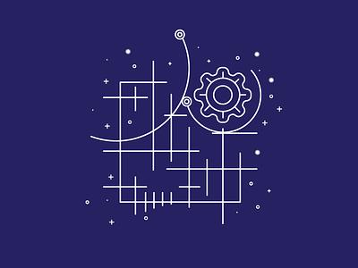 Production-Ready Grid Layouts web design letterpress gold concept illustration illustrations smashing book