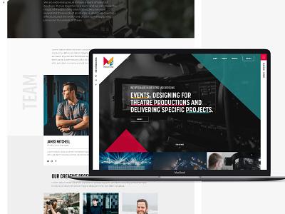 M3 Events website design production event branding events event events website ui mobile typography branding web website brand graphic design design
