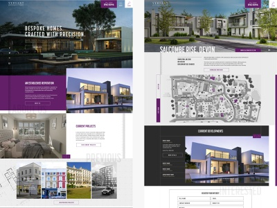 Versant construction website website design concept design concept construction clean mobile ui typography branding web website brand graphic design design