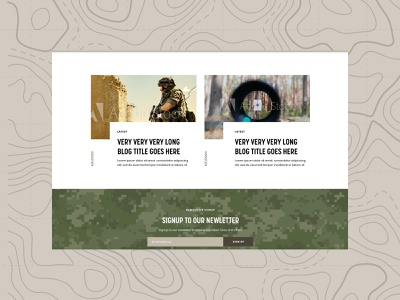 Target Tins   2 blog design military camoflauge cameo army design army component blocks components blog clean minimal typography web branding website brand graphic design design