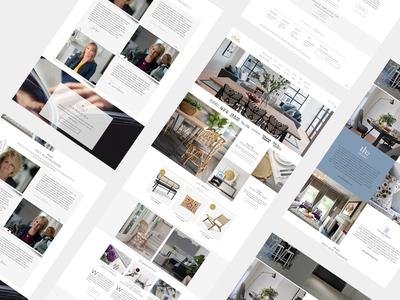 TH2 Studio Ecommerce Website design