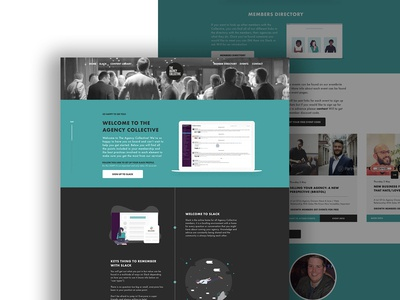 Welcome Landing page