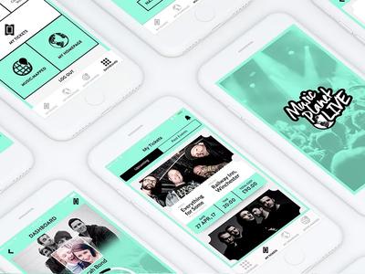 Music Planet Live Ticket App